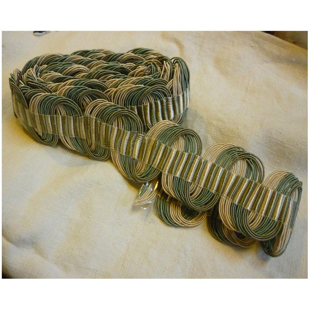Shabby Chic Corded Scalloped Trim Edging 2 3/8 Yards