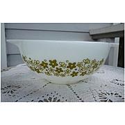 Pyrex Spring Blossom Green Cinderella 2 ½ Qt Mixing Bowl 443