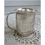 Towle Silverplate Large Baby Cup Mug