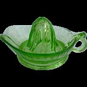 Jeannette Green Depression Glass Reamer