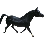 Vintage Black Beauty Morganglanz Breyer Horse Mold # 59
