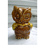 Wonderful Winking Owl Cookie Jar