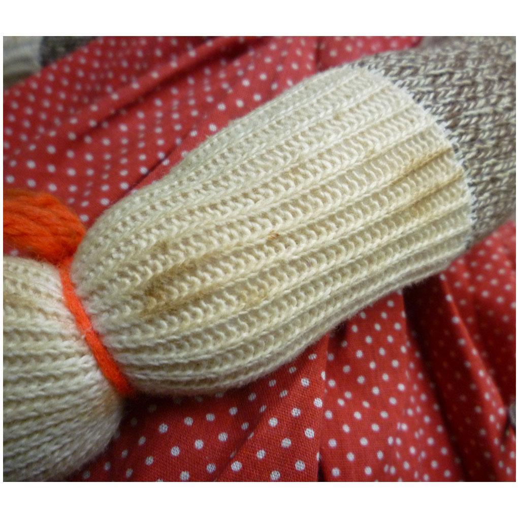 Red Heel Sock