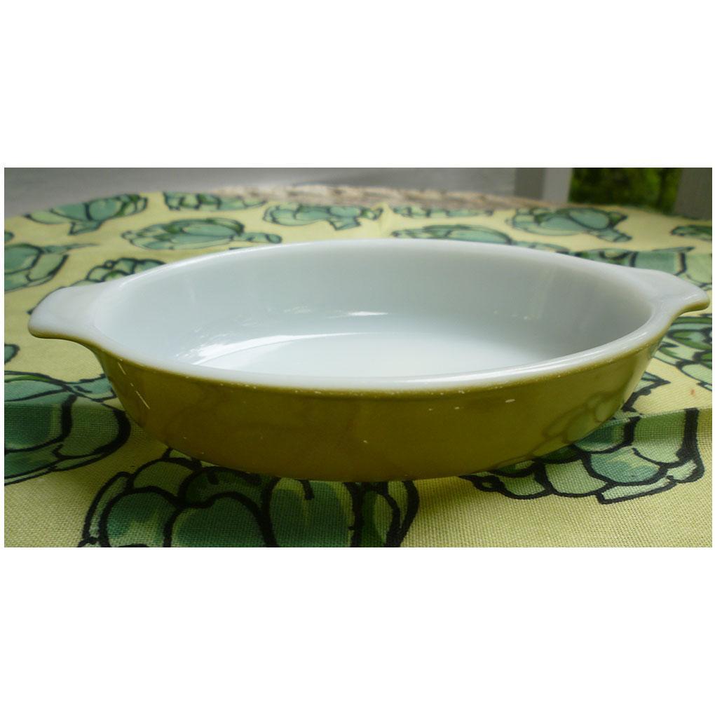 Pyrex Verde Individual Casserole Au Gratin 700 10 oz Pixie Dish