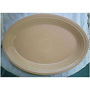 New Fiesta Apricot Oval Platter