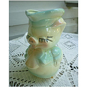 Hull Leeds Smiley Pig Creamer Milk Pitcher Jug