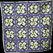 Baltimore Ravens Fabrics Oklahoma Twister Pattern Quilt