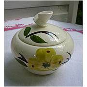 Blue Ridge Joni Dixie Dogwood Sugar Bowl with Lid
