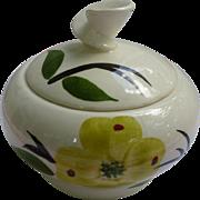 Blue Ridge Joni Dixie Dogwood Sugar Bowl with Lid