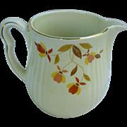 Hall Jewel Tea Autumn Leaf Pitcher or Jug