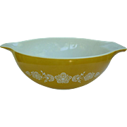 Pyrex Butterfly Gold 1 Pattern 4 Qt Cinderella Mixing Bowl 444