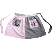 Fabulous Fifties Poodles on Pockets Apron