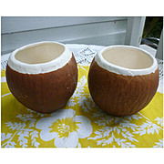 Pair Trader Vic's Coconut Mugs