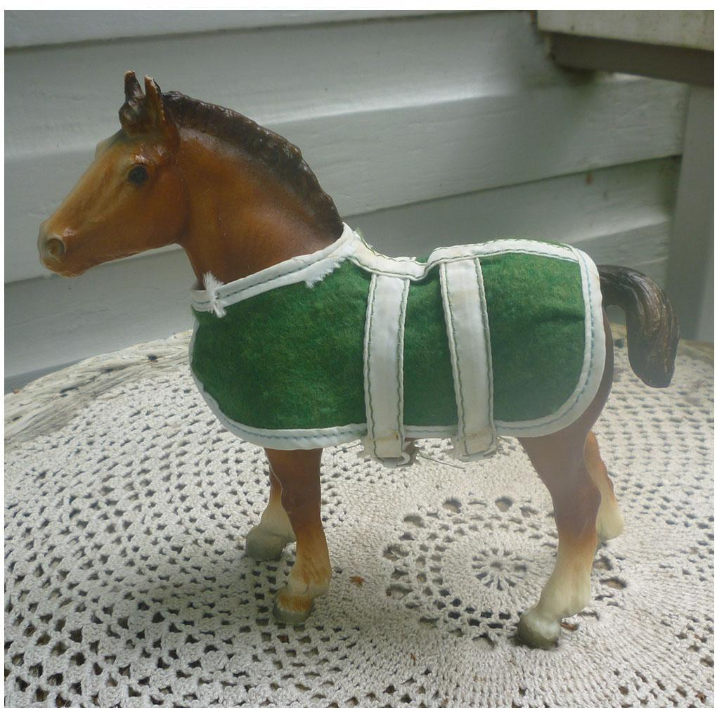 Clydesdale Foal Gift Set with Blanket Breyer Mold #84