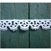 Delicate Cotton Lace Trim 10 ½ Yards