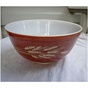 Pyrex Autumn Harvest Pattern 2 1/2 Quart Mixing Bowl 403