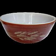 Pyrex Autumn Harvest Pattern 2 1/2 Quart Mixing Bowl 403