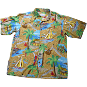 Reyn Spooner Jimmy Buffet Margaritaville Hawaiian Shirt