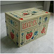 Stylecraft of Baltimore Calico Kitchen Recipes Box