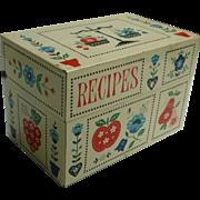 Stylecraft of Baltimore Calico Kitchen Recipes Box