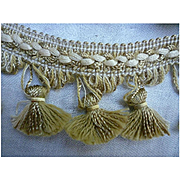 Shabby Chic Corded Bell Tassel Trim Edging 3 Yards