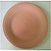 New Fiesta Rose Dinner Plate