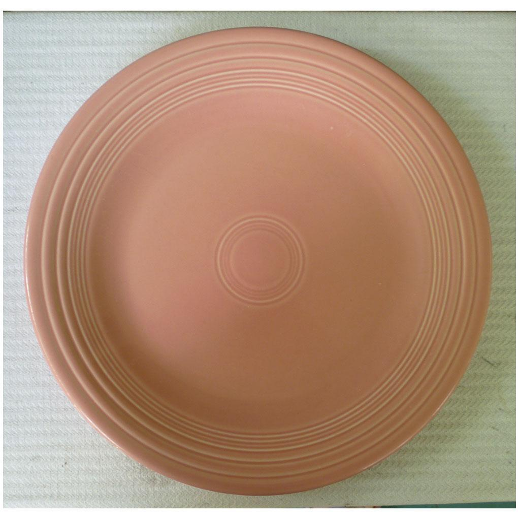 New Fiesta Rose Dinner Plate