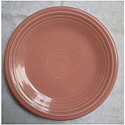 New Fiesta Rose Salad Plate