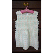 Memory Wear by Deborah Rosebud Chenille Girl's Dress 4 / 5 T