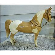 Vintage Western Pony Chestnut Pinto Breyer Horse Mold # 45
