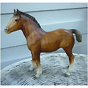 Vintage Clydesdale Foal Breyer Horse Mold # 84