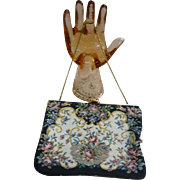 Floral Tapestry Hand Bag GHL Princess Style Made in Germany