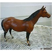 Beautiful Dark Bay Breyer Stablemate