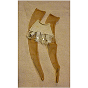 Fashion Doll Girdle Garter Belt and Nylon Stockings