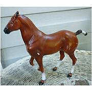 Vintage Hartland Chestnut Polo Pony