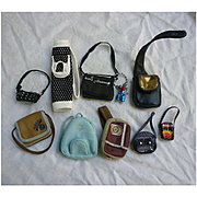 Lot of 9 Vintage Barbie Purses and Athletic Bags