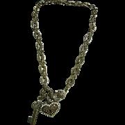 Ornate Key To My Heart Necklace