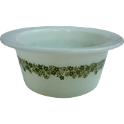 Pyrex Spring Blossom Green Butter Tub