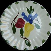 Fruit Fantasy Dinner Plate Blue Ridge Southern Pottery