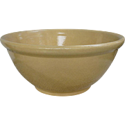 "Lovely Large Yelloware 12"" Mixing Bowl"