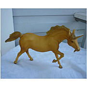 Unusual Running Stallion Unicorn Breyer Horse Mold # 210