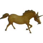 Unusual Running Stallion Unicorn Breyer Horse Mold # 210