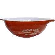 Pyrex Autumn Harvest Pattern Cinderella Mixing Bowl 444