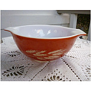 Pyrex Autumn Harvest Pattern Cinderella Mixing Bowl 442