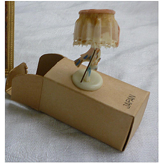 Ideal Petite Princess Fancy Lamp with Shade in Box