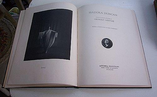 Arnold Genthe Isadora Duncan Twenty Four Studies 1929