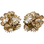 Amourelle Miriam Haskell Style Pearl Earrings
