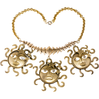 Joseff of Hollywood Sun God Necklace