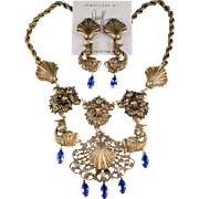 Joseff of Hollywood Venus Tears Limited Edition Necklace Earrings Set