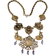 Joseff of Hollywood Venus Tears Bib Necklace